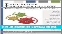 Ebook Truckload Transportation: Economics, Pricing and