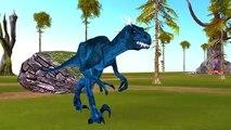 Colors DinosaursVs Colors Elephant Finger Family | Dinosaurs Movie | Finger Family Nursery Rhymes