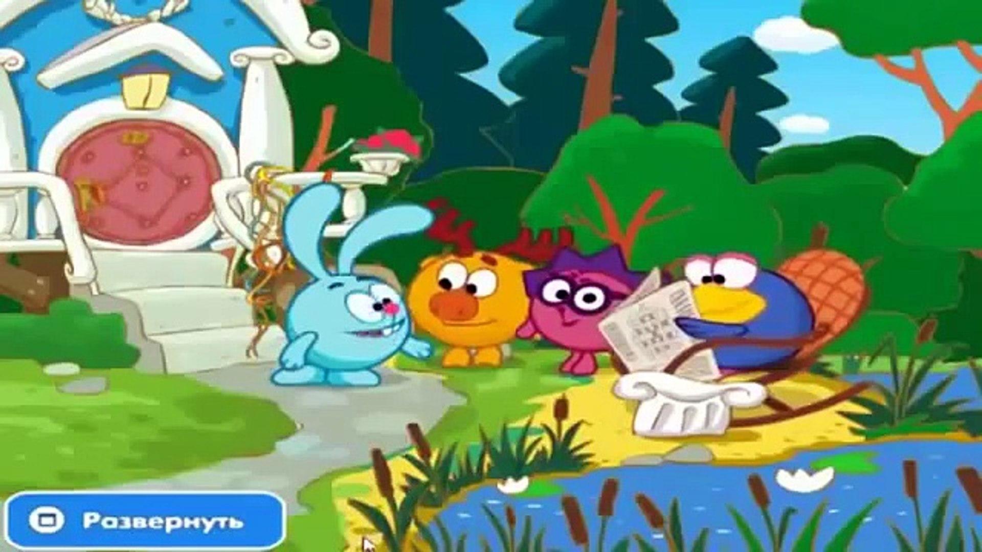 Игра Смешарики игра мультфильмы для детей новые серии Lets play по игре