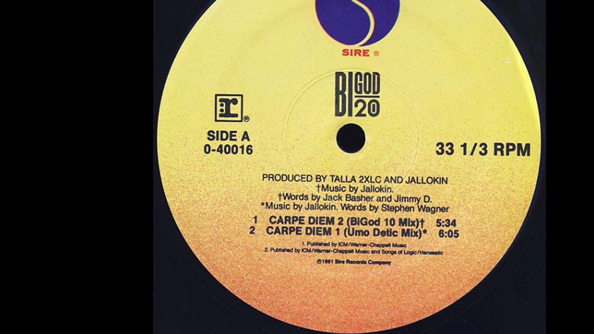 Bigod 20 - Carpe Diem 1 (Umo Detic Mix) (A2)