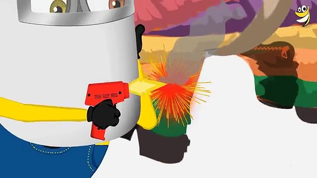 Minions Mini Movies 2017 ~ #Minions Emergency pipe Funny Cartoon [4k]