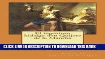 [PDF] Mobi El ingenioso hidalgo don Quijote de la Mancha (El Quijote) (Volume 1) (Spanish Edition)