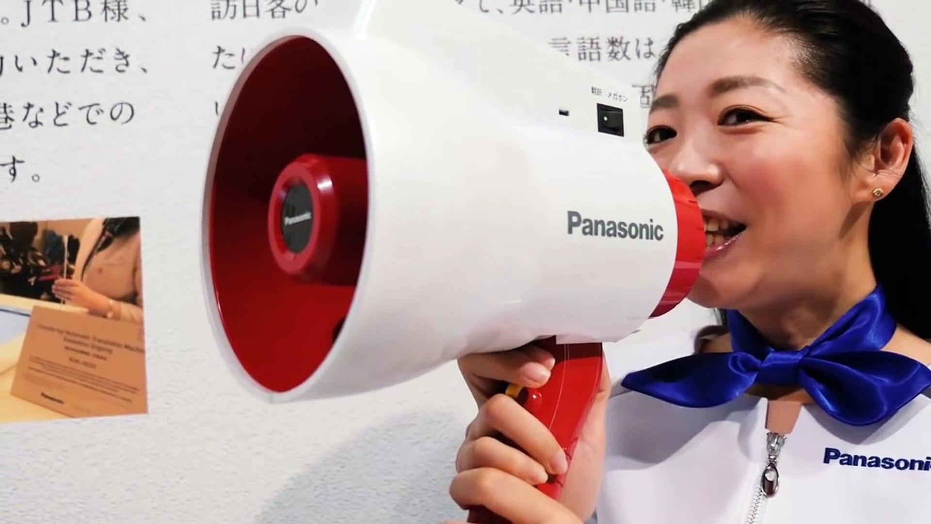 Este megáfono traduce lo que dices al instante