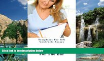 Books to Read  Templates For 75% Contracts Essays: A Contracts question asks: has a Contract