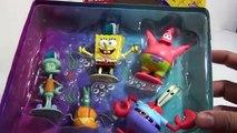Spongebob 5 Figures Set (Nickelodeon) Squidward Mr Krabs Patrick Star & Plankton
