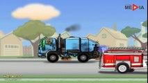 Leo le Camion benne Curieux - Chasse-Neige | Dessin anime francais pour enfant