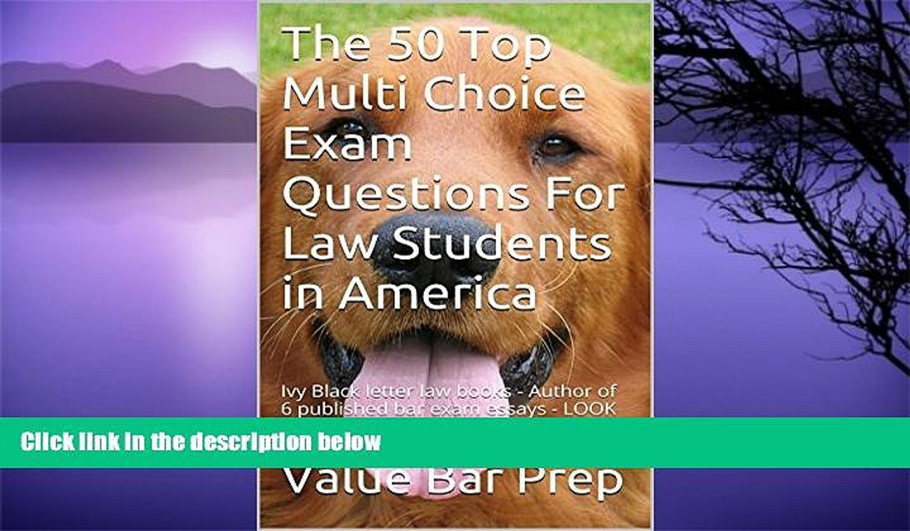 Big Deals  The 50 Top Multi Choice Exam Questions for Law Students: e book, Norma s Big law books