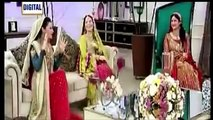Singer Humaira Arshad Sharing the Story of Her First Wedding Night in a Live Morning Show