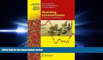FREE PDF  Modelling Extremal Events: for Insurance and Finance (Stochastic Modelling and Applied