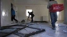 Día catastrófico en Alepo por bombardeos del régimen sirio