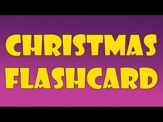 Christmas Flashcard