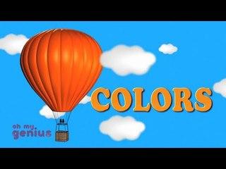 Hot Air Balloon-Colors