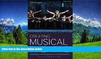 Enjoyed Read Creating Musical Theatre: Conversations with Broadway Directors and Choreographers