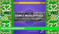 Buy NOW  Master the Boards USMLE Medical Ethics: The Only USMLE Ethics High-Yield Review  Premium