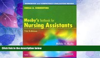 Buy NOW  Workbook and Competency Evaluation Review for Mosby s Textbook for Nursing Assistants,