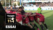 TOP 14 ‐ Essai Jean-Charles ORIOLI (RCT) – Castres-Toulon – J12 – Saison 2016/2017