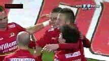 KV Oostende vs KVC Westerlo 5-0 Goals & Highlights  (samenvatting) JPL  19-11-2016 (HD)