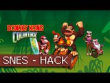 Donkey Kong Country Reloaded 0.2 - WIP - Stage 1 - Hack - Super Nes (1080p 60fps)