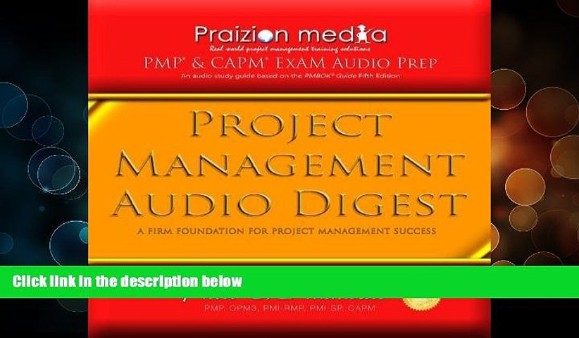 Deals in Books  Project Management Audio Digest: 18 PMP Exam Audio CDs (PMBOK 5th Ed) by Praizion