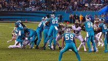 Panthers Block Field Goal to Set Up Newton to Ginn 40-yard TD! | Saints vs. Panthers | NFL