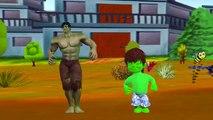 Johny Johny Yes Papa Nursery Rhymes for Children Hulk Cartoon | Johny Johny Yes Papa Rhymes