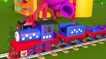 Le train Tchou Tchou et les solides géometriques partie 1 Pour les enfants de lécole primaire