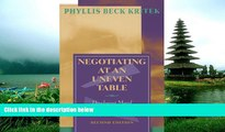 FREE DOWNLOAD  Negotiating at an Uneven Table: Developing Moral Courage in Resolving Our