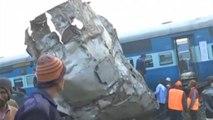 Zugunglück in Indien: Mindestens 60 Tote