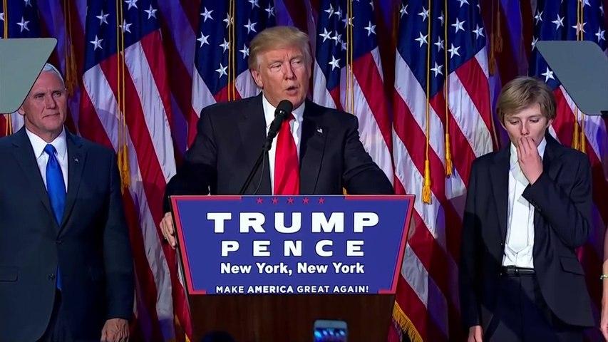 Donald Trump's full victory speech