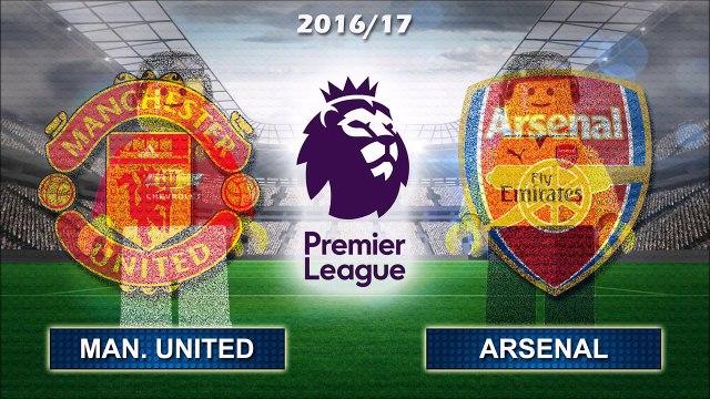 MANCHESTER UNITED vs ARSENAL 1-1 • Premier League 2016/17 ( Film Lego Football ) Man Utd Highlights