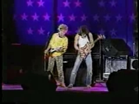 EDDIE VAN HALEN/SAMMY HAGAR - Rock n' Roll (live)