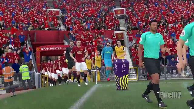 Manchester United vs Arsenal 1-1 |Premier League| FIFA 17 Predicts - 19/11/2016 - by Pirelli7