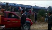 Un train déraille en Inde