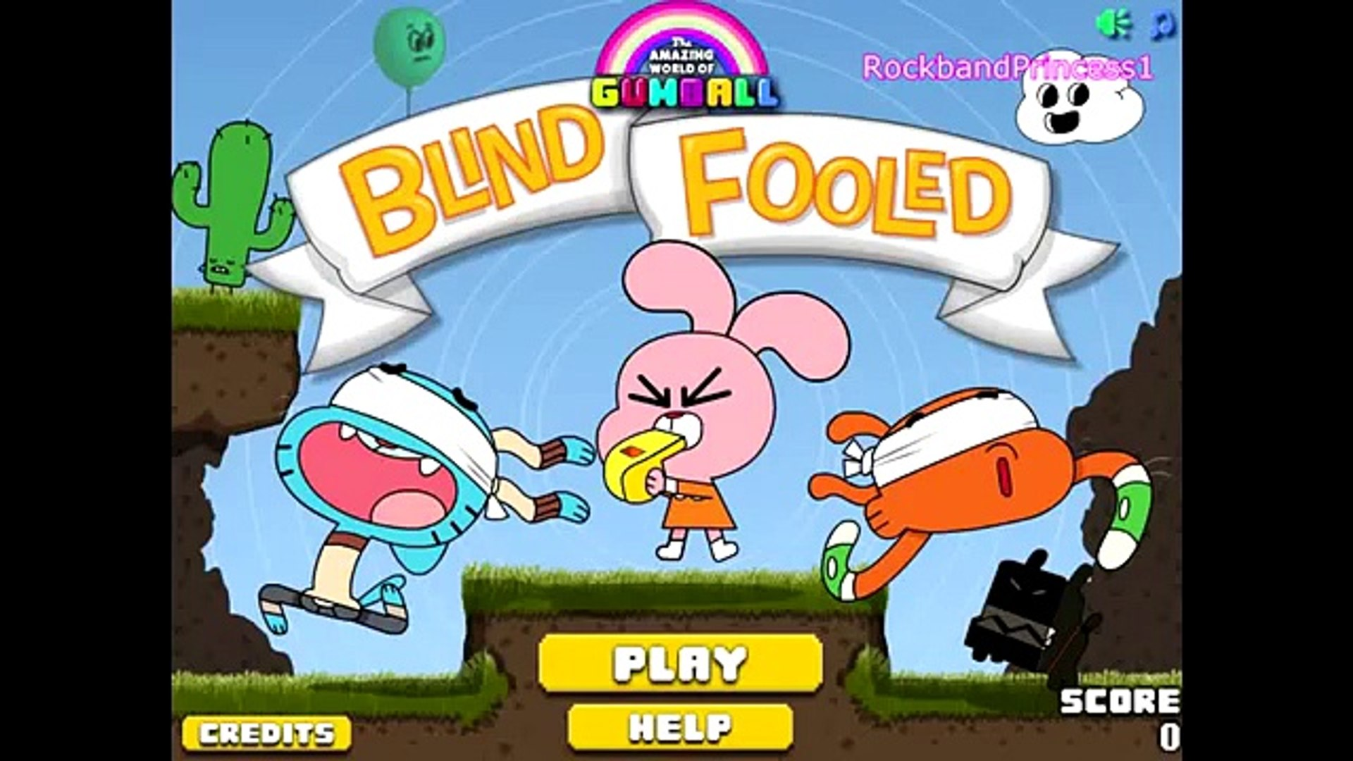 Cartoon Networks The Amazing World Of Gumball Blind Fooled Online
