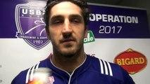 Rugby Fédérale 1 - Jérôme Mondoulet après USB - provence Rugby