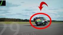 Ce grand malade roule a 189km/h sur 2 roues! video gag