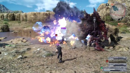 9999 Max Damage Magic Attack and Magic Counter de Final Fantasy XV