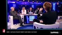 ONPC: Natacha Polony remet Yann Moix à sa place sous les applaudissements du public