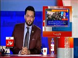 Amir Liaqat making fun of Najam Sethi, calling him Chirri Baba