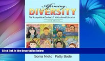 Big Sales  Affirming Diversity: The Sociopolitical Context of Multicultural Education (6th