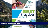 Deals in Books  Best Practices at Tier 1: Daily Differentiation for Effective Instruction,