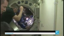Le Français Thomas Pesquet bien arrivé dans la Station spatiale internationale