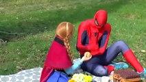 superheroes in real life superhero fights superhero battles spiderman frozen in real life