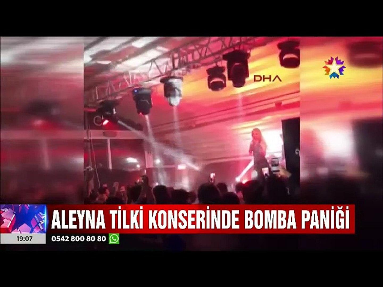 Aleyna Tilki'nin konserine giremeyince bomba patlattılar