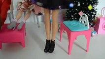 Barbie Leticia no Natal Bolsa estoura Para Chegada do bebe!!! Em Portugues Parte 48 Tototoykids