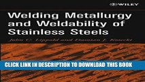 [PDF] Epub Welding Metallurgy and Weldability of Stainless Steels Full Online
