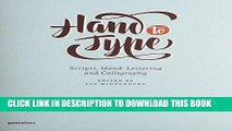 Ebook Hand to Type: Scripts, Hand-Lettering and Calligraphy Free Read