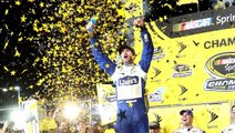 Jimmie Johnson wins record-tying seventh Sprint Cup title