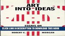 Ebook Art into Ideas: Essays on Conceptual Art (Contemporary Artists and their Critics) Free