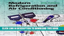 Ebook Modern Refrigeration and Air Conditioning (Modern Refridgeration and Air Conditioning) Free